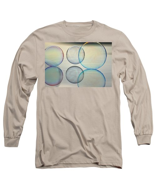 Bubbles On The Water Long Sleeve T-Shirt