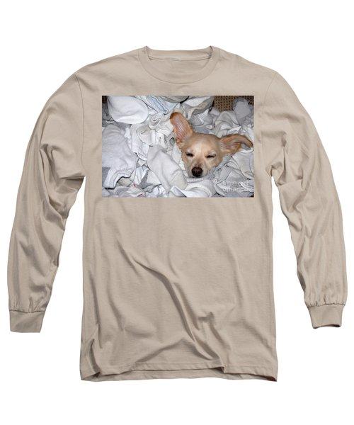 Buddy Socks Long Sleeve T-Shirt
