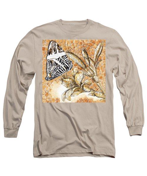 Butterfly Mosaic 02 Elena Yakubovich Long Sleeve T-Shirt