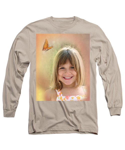Butterfly Smile Long Sleeve T-Shirt