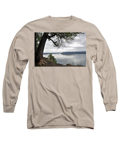 Long Sleeve T-Shirt featuring the photograph By The Still Waters by Tikvah's Hope