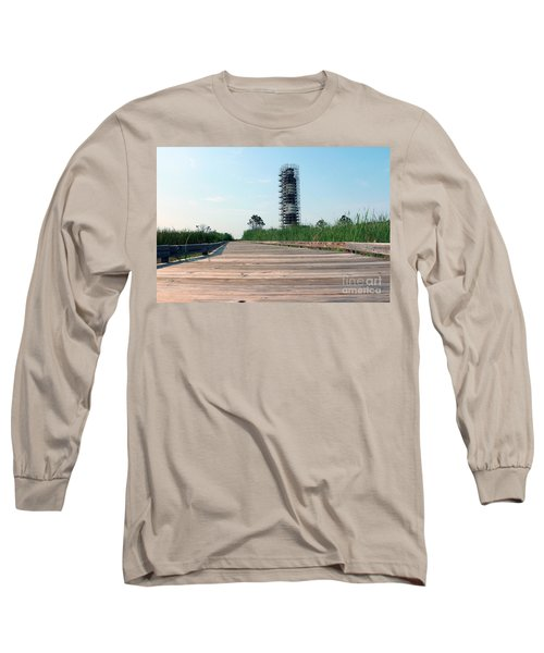 Long Sleeve T-Shirt featuring the photograph Caged Beauty 1 by Tony Cooper