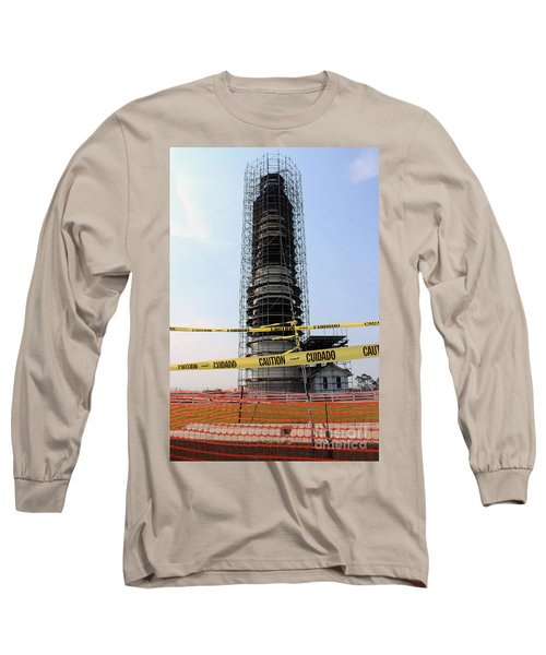 Long Sleeve T-Shirt featuring the photograph Caged Beauty 2 by Tony Cooper