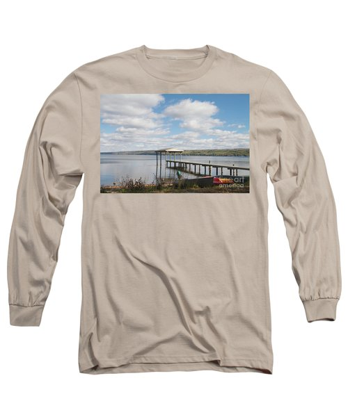 Long Sleeve T-Shirt featuring the photograph Calm Waters by William Norton