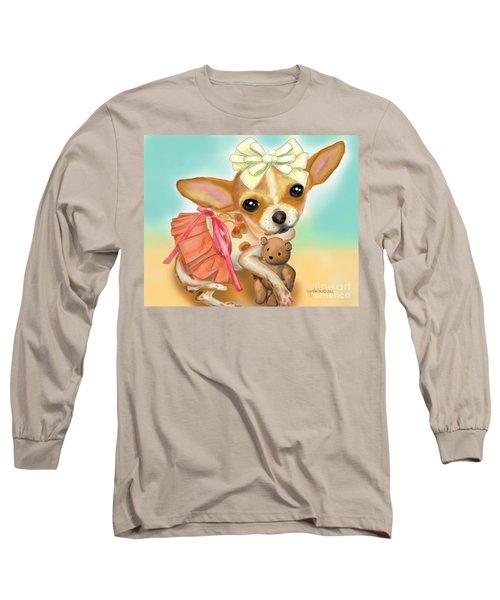 Chihuahua Princess Long Sleeve T-Shirt