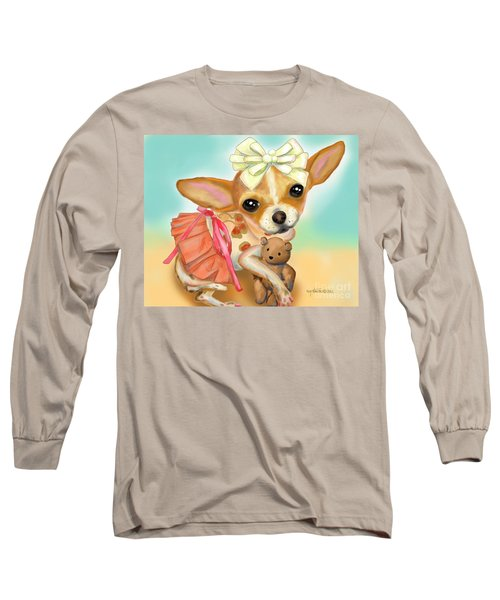 Chihuahua Princess Long Sleeve T-Shirt