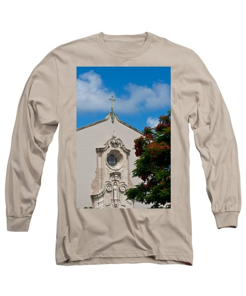 Long Sleeve T-Shirt featuring the photograph Church Of The Little Flower by Ed Gleichman