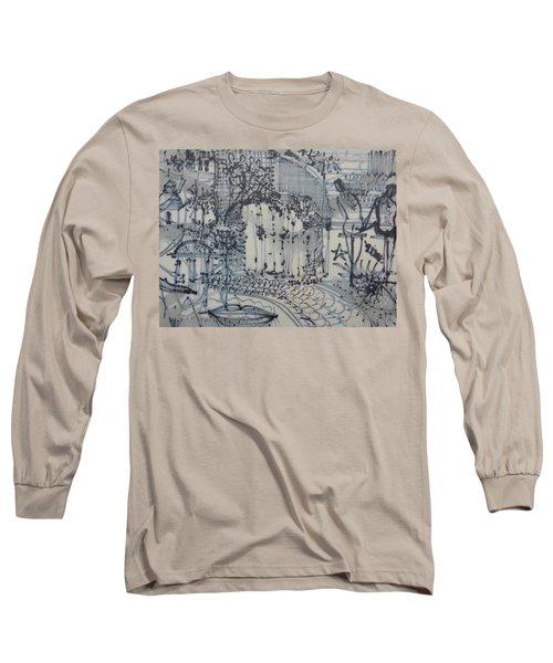 City Doodle Long Sleeve T-Shirt
