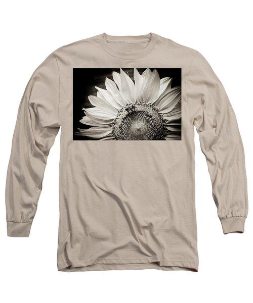 Classic Sunflower Long Sleeve T-Shirt by Sara Frank