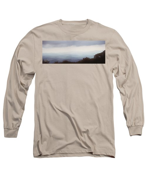 Clouds In The Mountains Long Sleeve T-Shirt