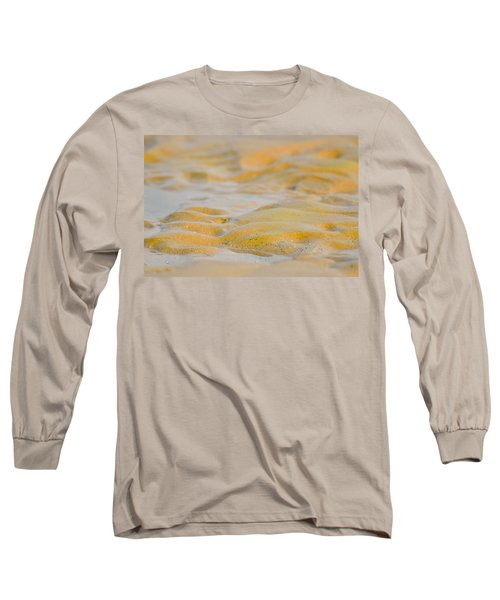 Coastal Abstract Long Sleeve T-Shirt by Fotosas Photography