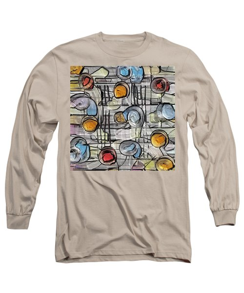 Colors Fighting To Get Out Long Sleeve T-Shirt