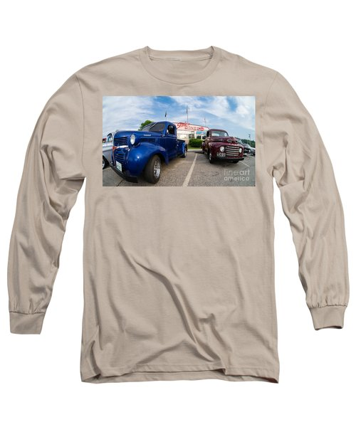 Cruise Night At The Diner Long Sleeve T-Shirt