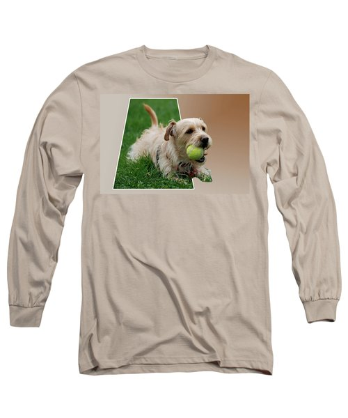Long Sleeve T-Shirt featuring the photograph Cruz My Ball by Thomas Woolworth