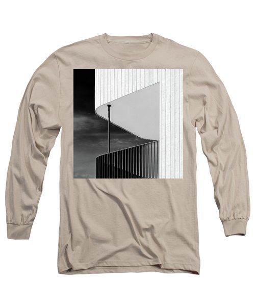 Curved Balcony Long Sleeve T-Shirt