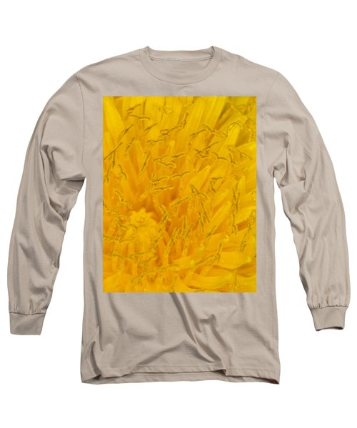 Dandelion Up Close Long Sleeve T-Shirt