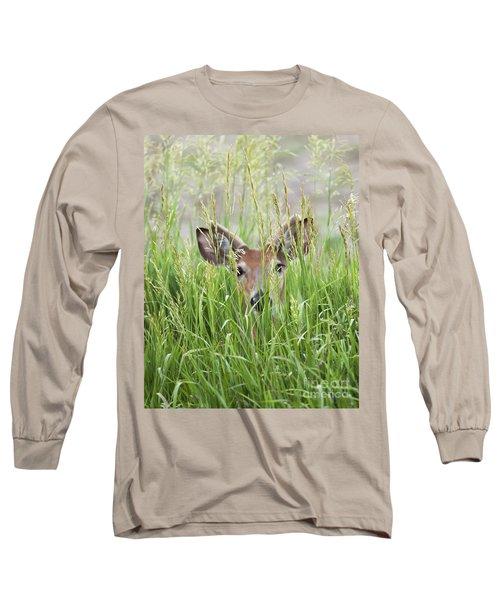 Deer In Hiding Long Sleeve T-Shirt
