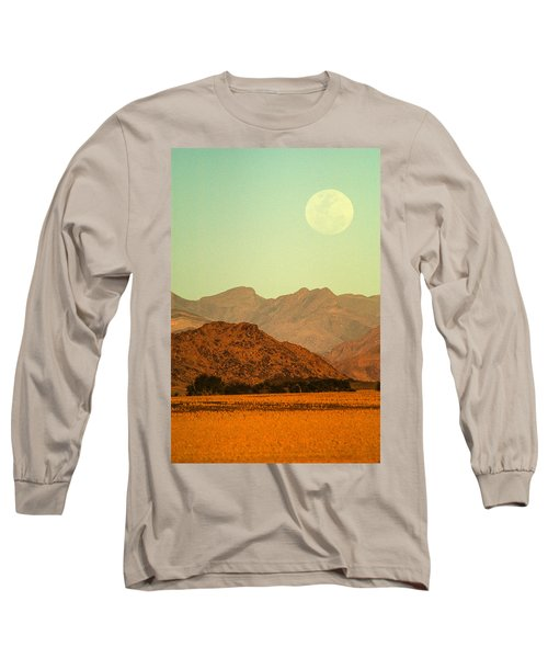 Desert Moonrise Long Sleeve T-Shirt