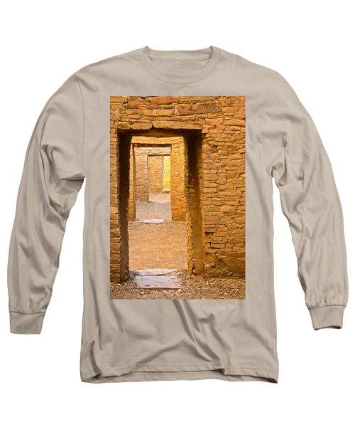 Doorway Chaco Canyon Long Sleeve T-Shirt