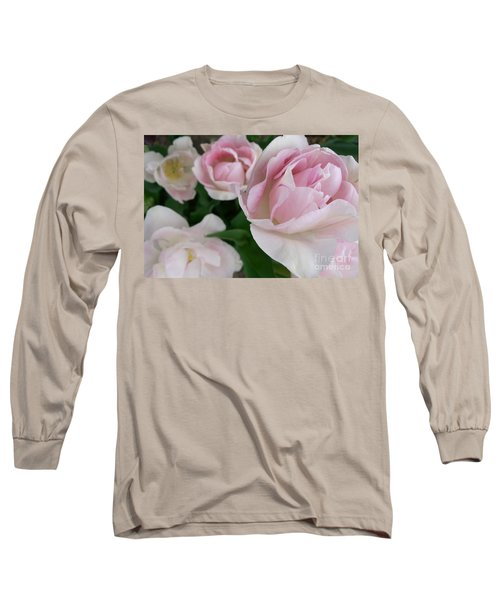 Double Pink Long Sleeve T-Shirt