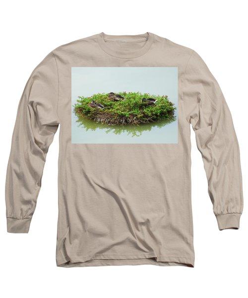 Duck Heaven Long Sleeve T-Shirt