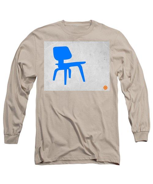 Eames Blue Chair Long Sleeve T-Shirt