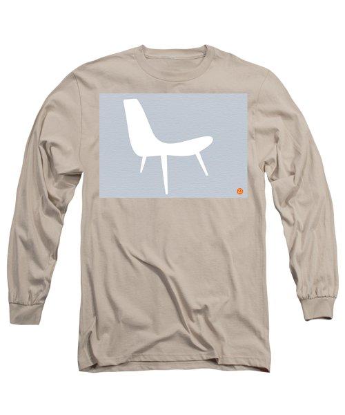 Eames White Chair Long Sleeve T-Shirt