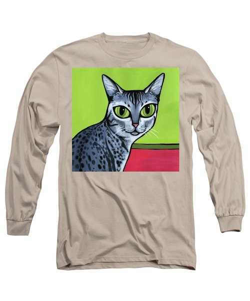 Egyptian Mau Long Sleeve T-Shirt