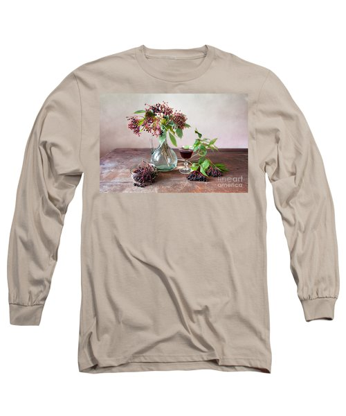 Elderberries 03 Long Sleeve T-Shirt