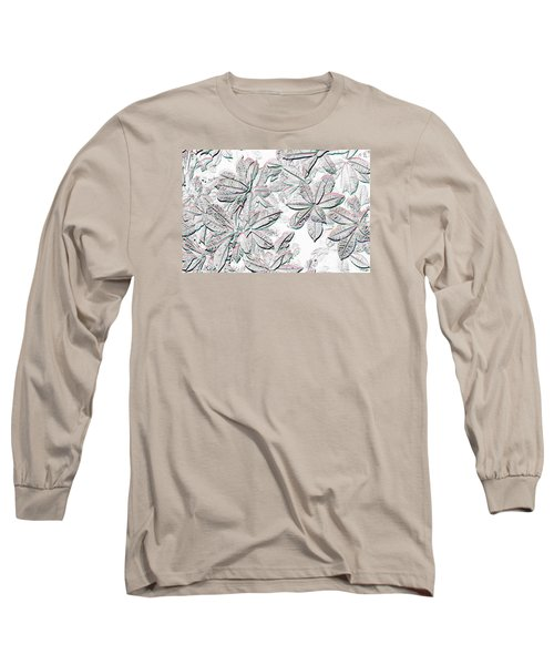 Embossed Crotons Long Sleeve T-Shirt