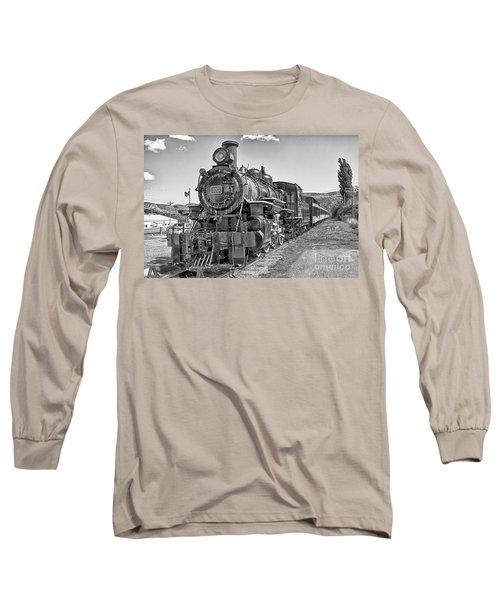 Engine 593 Long Sleeve T-Shirt by Eunice Gibb