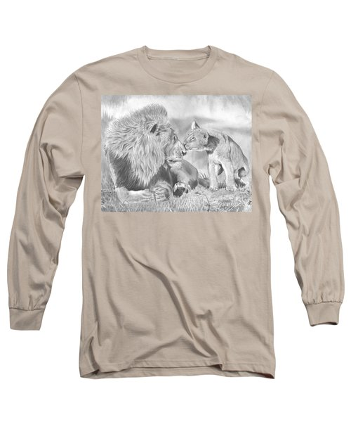 Father And Cub Long Sleeve T-Shirt