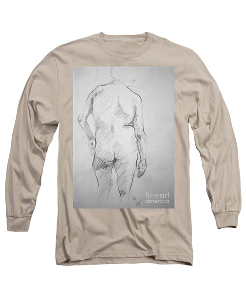 Figure Study Long Sleeve T-Shirt by Rory Sagner