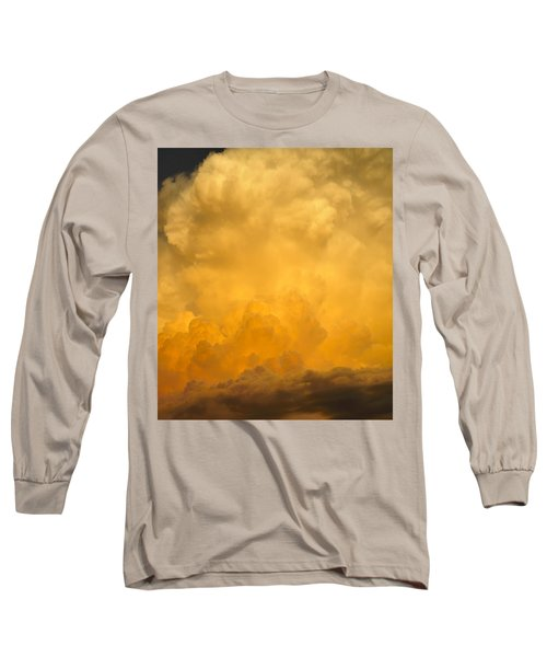 Fire In The Sky Fsp Long Sleeve T-Shirt by Jim Brage
