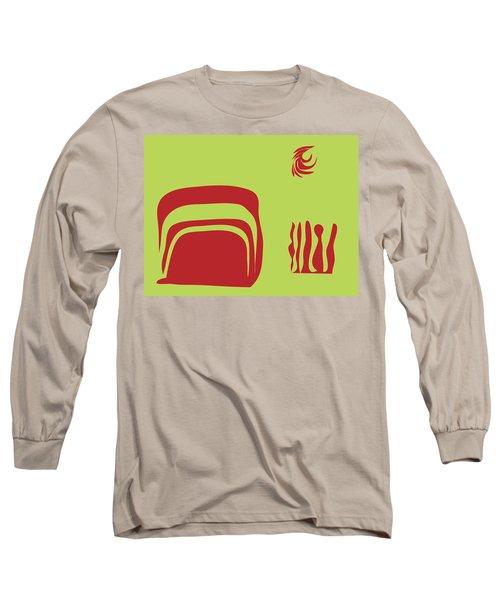 Fire Spirit Cave Long Sleeve T-Shirt by Kevin McLaughlin