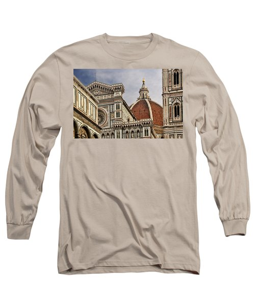 Long Sleeve T-Shirt featuring the photograph Florence Duomo by Steven Sparks