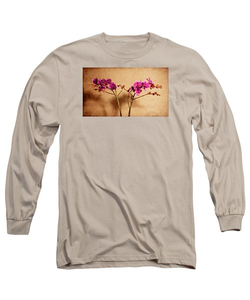 Long Sleeve T-Shirt featuring the photograph Flower Letter by Milena Ilieva