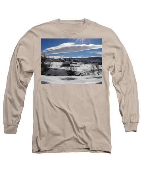 Fortress Of Solitude Long Sleeve T-Shirt