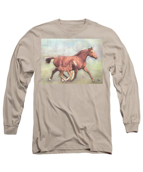 Free And Fleet As The Wind Long Sleeve T-Shirt