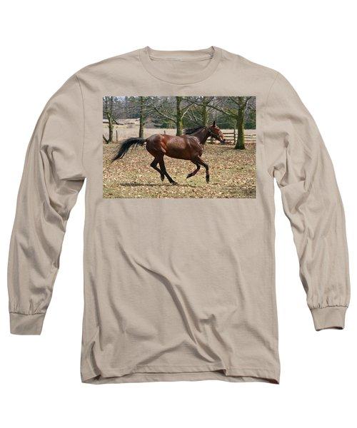 Long Sleeve T-Shirt featuring the photograph Free Spirit by Davandra Cribbie