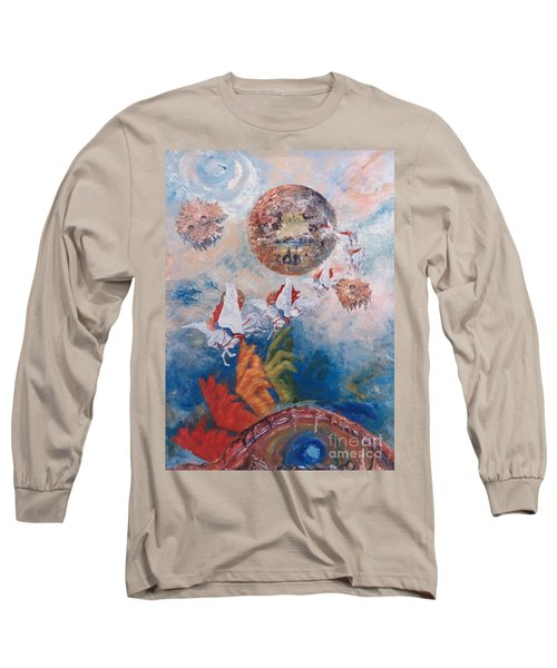 Freedom - The Beginning Of All Being Long Sleeve T-Shirt