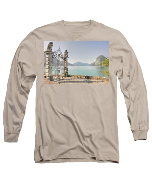 Gate On The Lake Front Long Sleeve T-Shirt