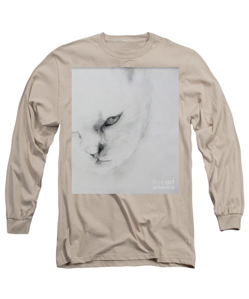 Ghost Cat Long Sleeve T-Shirt
