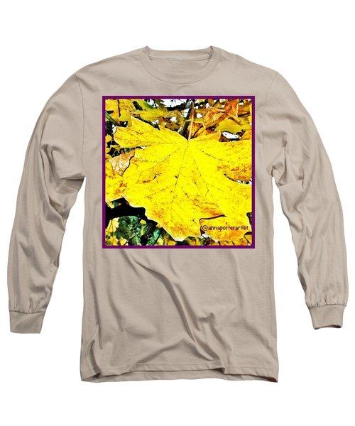 Giant Maple Leaf Long Sleeve T-Shirt