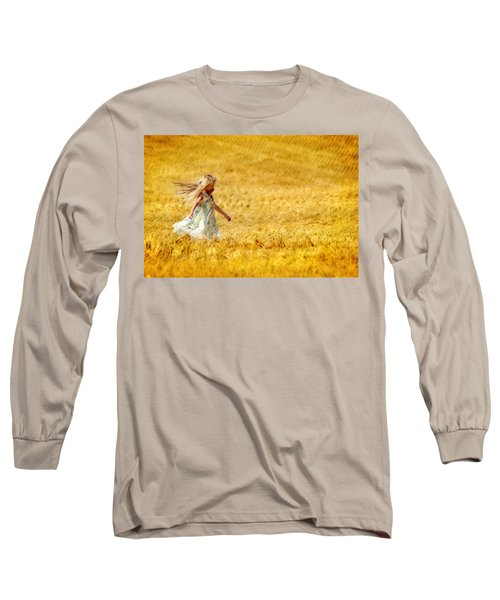 Girl With The Golden Locks Long Sleeve T-Shirt