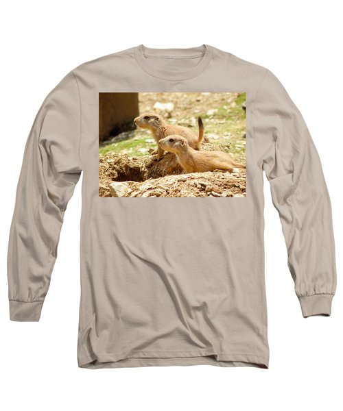 Go West Young Man Long Sleeve T-Shirt