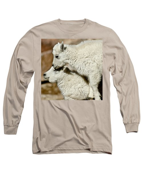 Goat Babies Long Sleeve T-Shirt