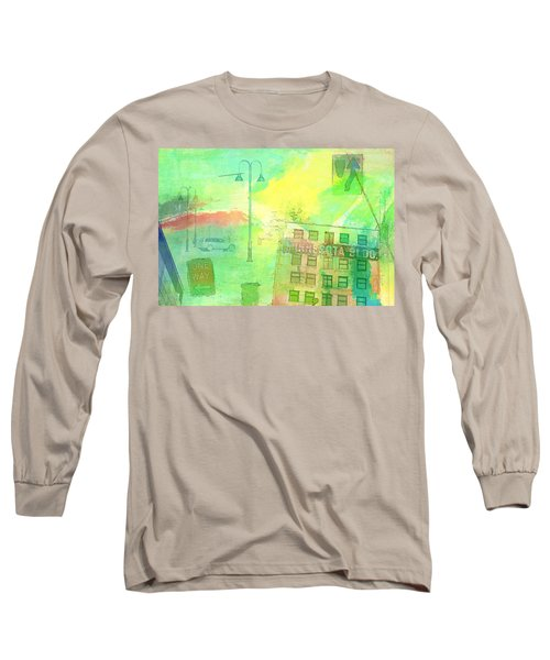 Going Places Long Sleeve T-Shirt by Susan Stone