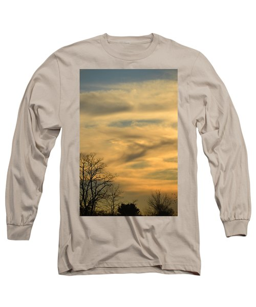 Golden Hue Long Sleeve T-Shirt by Bonnie Myszka