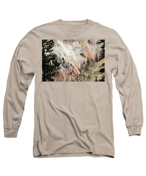 Grand Canyon Colors Of Yellowstone Long Sleeve T-Shirt by Living Color Photography Lorraine Lynch